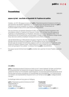 pegasus rig tools - neue Reihe an Flugzubehör für Projektoren bei publitec