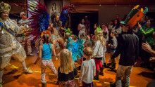 Karneval, konst och mumier på sportlovet i Stockholm