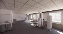Fem konstnärer får skissuppdrag i samband med ombyggnation på Södersjukhuset