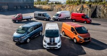 Ford dominerer varebilssalget