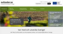 Ny webbplats guidar till EU-stöd