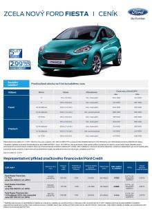 Zcela nový Ford Fiesta – ceník