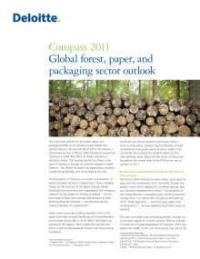 Compass 2011 - Global forest, paper, and packaging