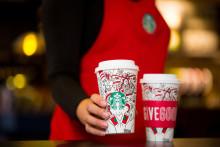 Nu vet vi att julen är på ingång, Starbucks lanserar 2017 års julkampanj.