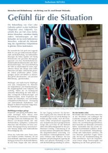 Menschen mit Behinderung: Gefühl für die Situation