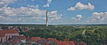 thyssenkrupp Elevator opens Germany's highest viewing platform at its test tower in Rottweil