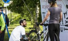 Riksbyggens Cykelpopup med gratis cykelservice kommer till Växjö