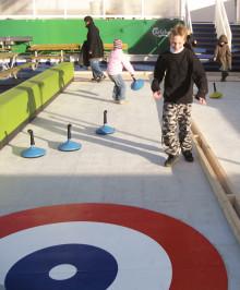 Stena Line lanserar curlingbana till sjöss