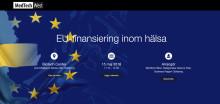 Välkommen till en eftermiddag om EU-finansiering inom hälsa den 15 maj!