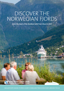 Enter the heart of the Norwegian fjordland with Fred. Olsen Cruise Lines in 2017