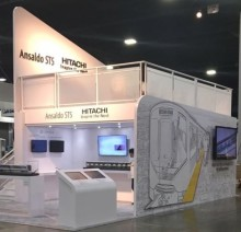 Hitachi Rail Italy and Ansaldo STS in Atlanta for APTA 2017