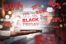 Ännu nytt rekord för e-handeln på Black Friday