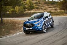 Nye Ford EcoSport kommer med firehjulstrekk!