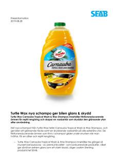 Turtle Wax nya schampo ger bilen glans & skydd