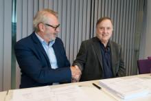 Lokal entreprenør vant første anleggskontrakt for Fosen Vind