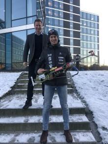 Sturla Holm Lægreid og AF Gruppen inngår eget samarbeid