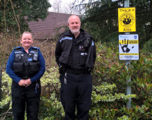 New SmartWater streets launched to tackle burglary– Cumnor
