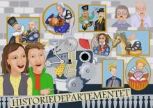 Historiefokus för de unga i UR:s nya sommarserie