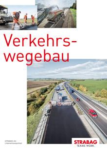 STRABAG-Unternehmensbroschüre Verkehrswegebau