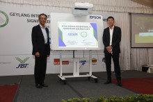 Epson Singapore and Geylang International Football Club Unite Once Again in Sponsorship Renewal for Fourth Consecutive Year
