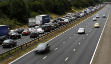 Estimated 11m leisure trips by car planned as bank holiday finally heralds some settled weather