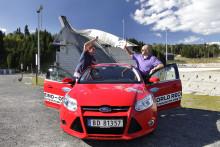 Nordmenn satte ny verdensrekord i økonomikjøring. Kautokeino - Oslo på én tank bensin