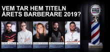 På söndag koras Årets barberare 2019!