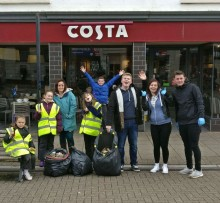 Keep Britain Tidy and Costa Coffee come together to give the country a spring clean