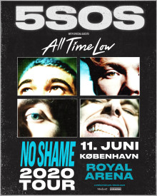 All Time Low er special guests til koncerten med 5SOS