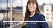Försnack inför bostadsminister Per Bolunds byggsamtal - 5 minuter med Johanna Ode