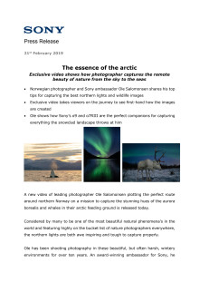 The essence of the arctic
