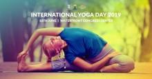 Välkommen ikväll 17-19.30  YOGA DAY STHLM 2019 på Waterfront med yogin Swami Jyothirmayah, Art of Living. Fri entré.