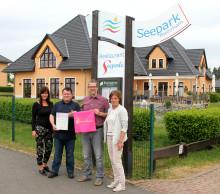 Seepark Auenhain: Bärenherz sagt Danke