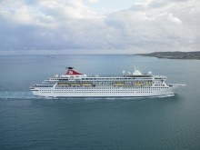 Fred. Olsen Cruise Lines Balmoral becomes an internet sensation, after dramatic time-lapse footage of the ship being extended goes viral