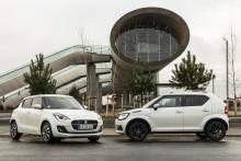 Hybrid-teknik er nu standard i Suzuki Swift og Ignis