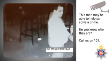 Can you help us identify this man who may help our investigation into Epsom sexual assault?