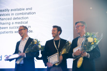 Beactica, Blusense Diagnostics and Optomed announced as winners of the prestigious Nordic Stars 2018 Award at NLSDays in Stockholm