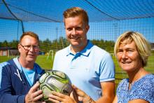 Påskrivet och klart för ny fotbollssatsning