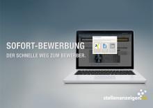 Die Sofort-Bewerbung auf stellenanzeigen.de: der schnelle Weg zum Job