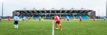 Ballymena Showgrounds to host United's European clash after football bosses give revamped pitch the thumbs up