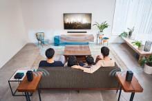 Audio surround a tutta potenza  con il nuovo sistema di home cinema  HT-S40R di Sony