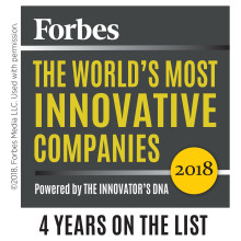 ASSA ABLOY listat på Forbes Innovationslista