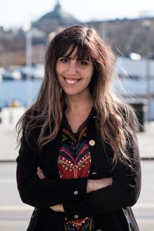 Multientreprenören Louise Lindén tar emot Kompassrosen