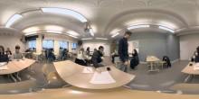 UR:s En skoldag i virtual reality har tilldelats två guld i Swedish Content Awards