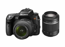 Sony introduces high performance DSLR cameras with Full HD video Fully-featured α580 with newly developed 16.2M Exmor APS HD CMOS censor, up to 7fps shooting, and Auto HDR
