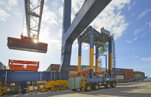 Internationell erfarenhet bakom containerhanteringen i Norvik