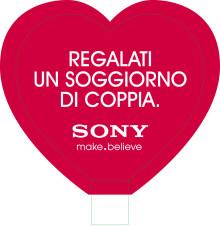 A San Valentino il soggiorno è di coppia con Sony