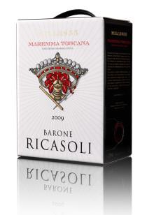 Barone Ricasoli Mille855 - Ny röd premiumbox i Systembolagets beställningssortiment!