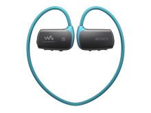Z muzyką na trening: zakładany na głowę, wodoodporny* Walkman® WS610 z technologią bezprzewodową Bluetooth®