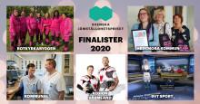 Fem bidrag till final i Svenska Jämställdhetspriset 2020